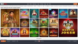 Netbet Popular Games Preview