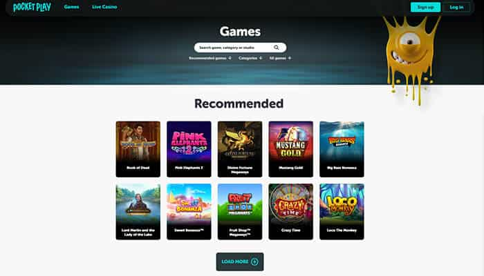 Poket Play Recommended Games Preview