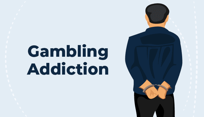 Gambling addiction crime and 500k debt