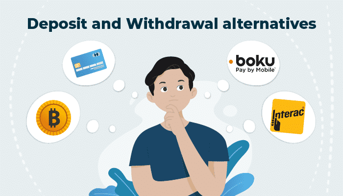 Deposit and Withdrawal alternatives