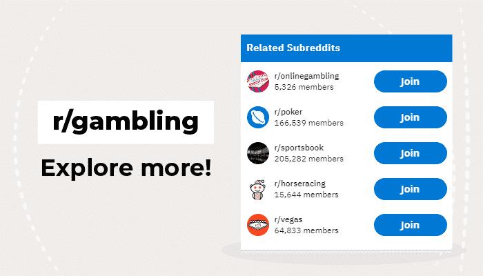 r/gambling subreddits