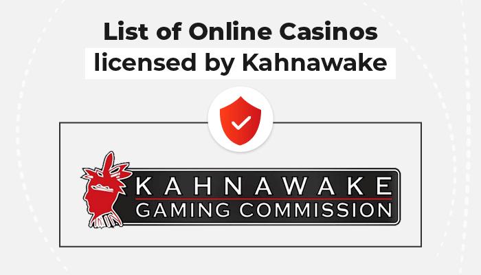 List of online casinos licensed by Kahnawake