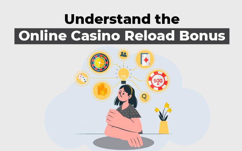Understand the online casino reload bonus
