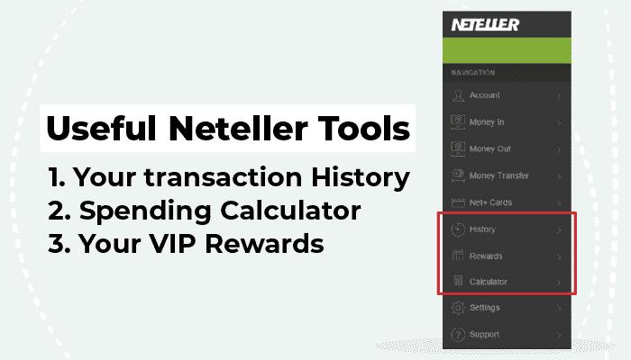 Useful Neteller tools