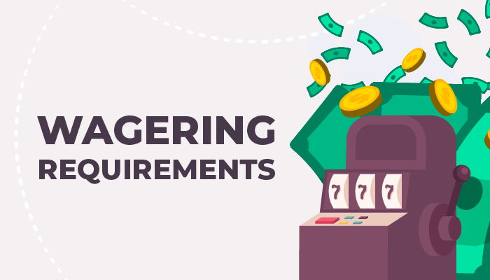 Wagering requirements for free sign-up spins