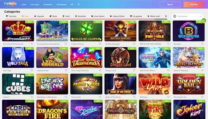 CadoolaCasino New Games Preview