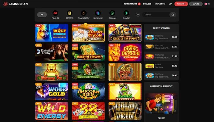 CasinoChan  All games Preview