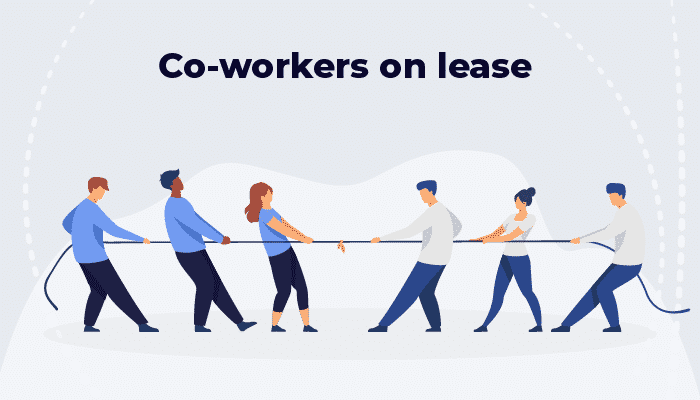 Co-workers on lease