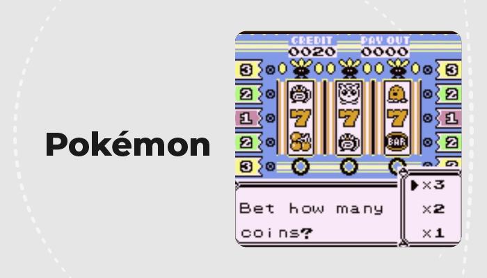 Pokémon slots