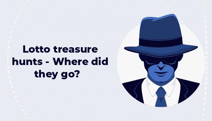 Lotto treasure hunts