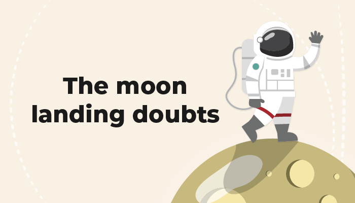 The moon landing doubts