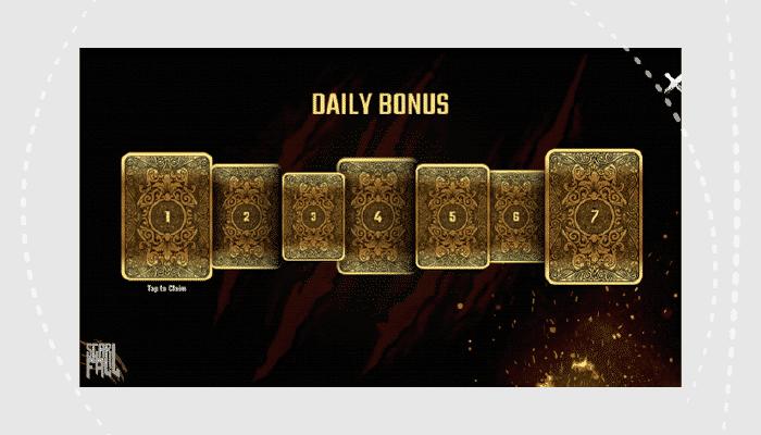 Scarfall daily reward