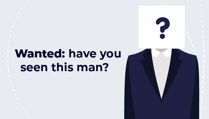 Wanted: have you seen this man?
