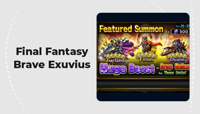 Final Fantasy Brave Exuvius