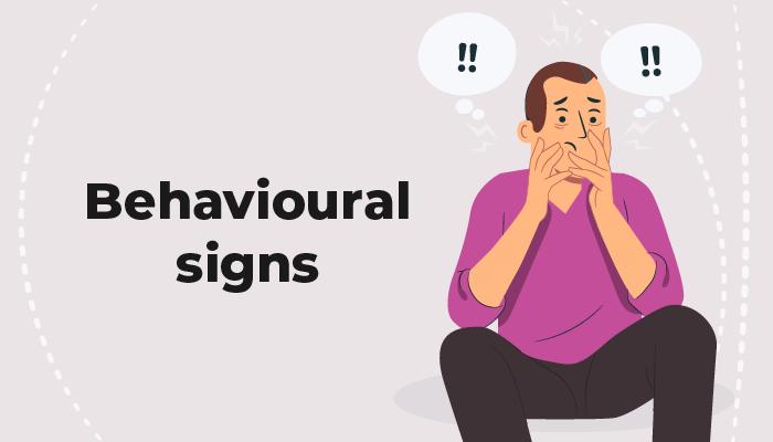 Behavioural gambling signs