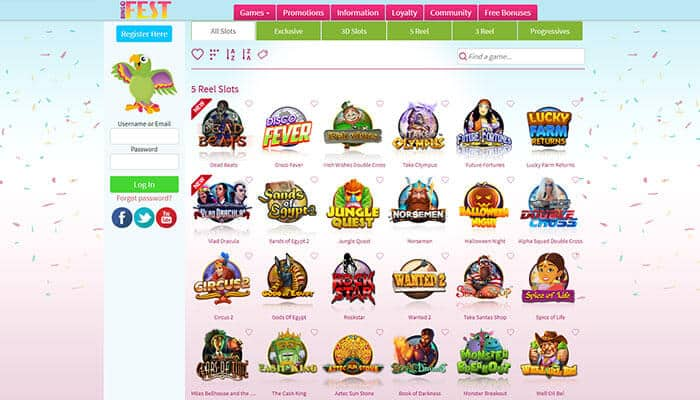 BingoFest Slots Preview