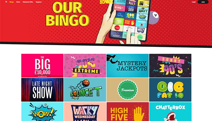 Bonnie Bingo Games Preview