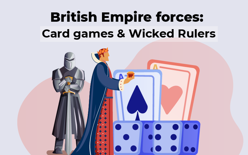 British Empire forces: card games