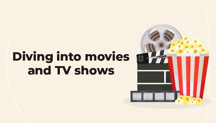 Driving into movies and TV shows