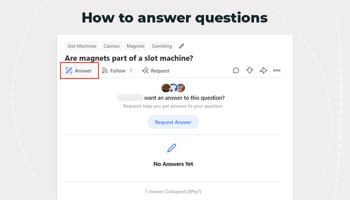 Quora how to answer questions