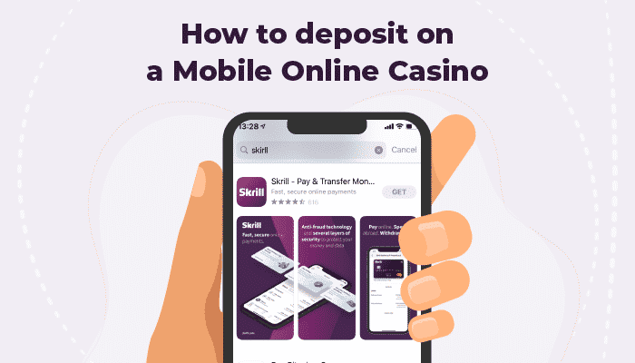 How to deposit on a mobile online casino