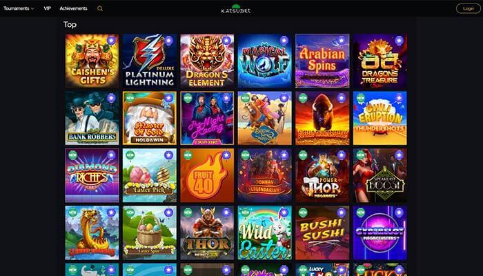 KatsuBet Top Games Preview