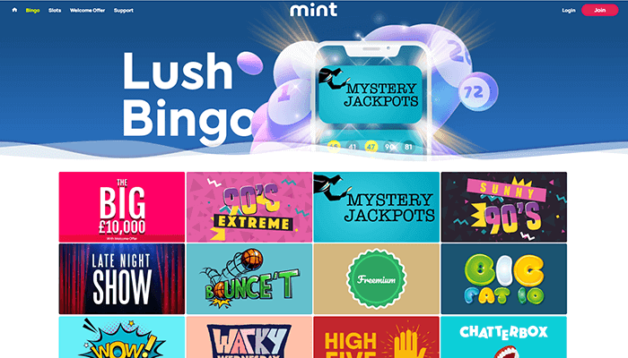 Mint Bingo Bingo Preview