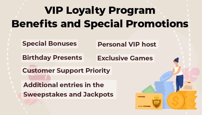 VIP loyalty Program benefits and special promotions