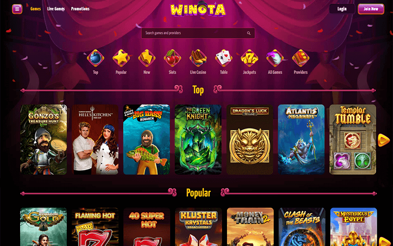 Winota Games Preview