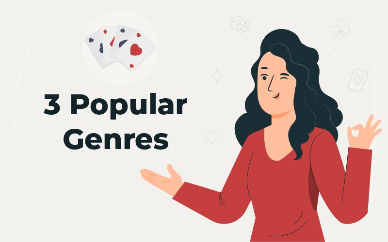 3 popular genres