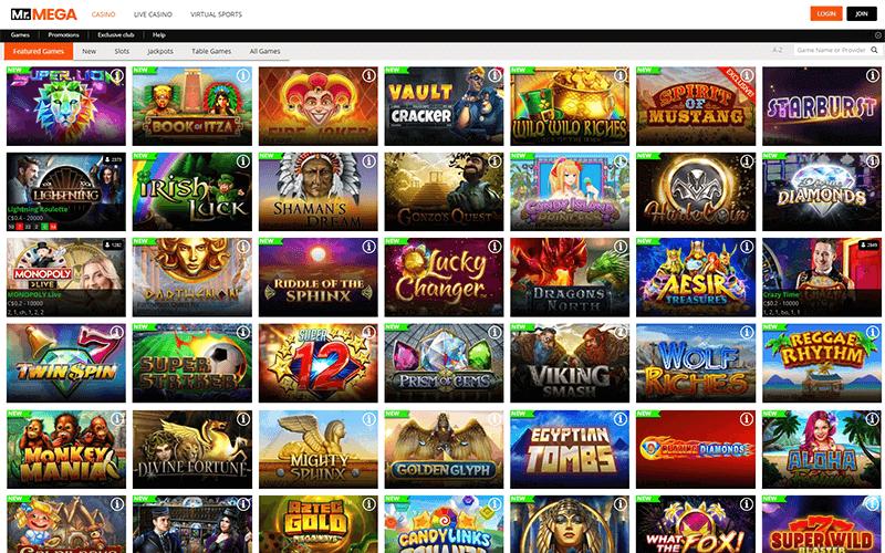 Mr. Mega Games Preview