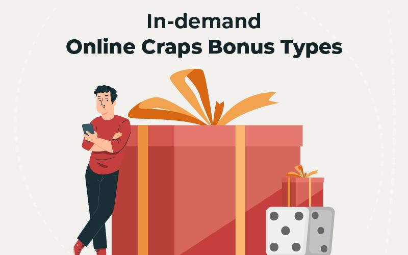 online Craps bonus types