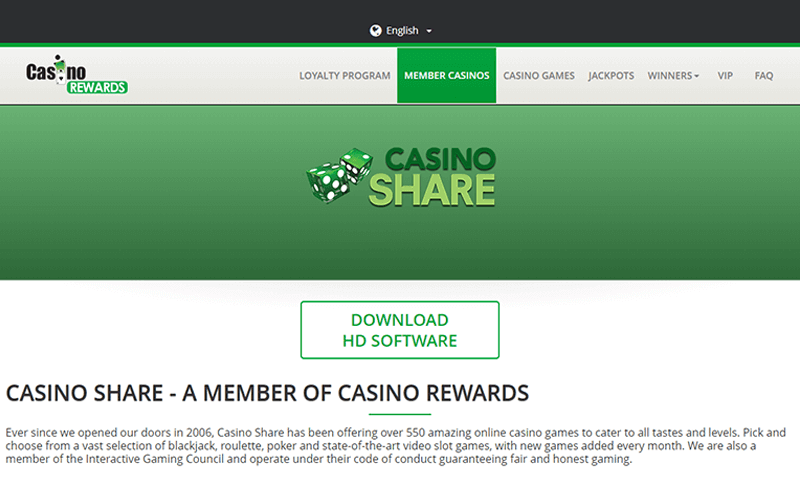 Casino Share Download Link Preview