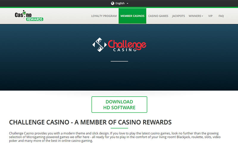 Challenge Casino Download HD software Preview