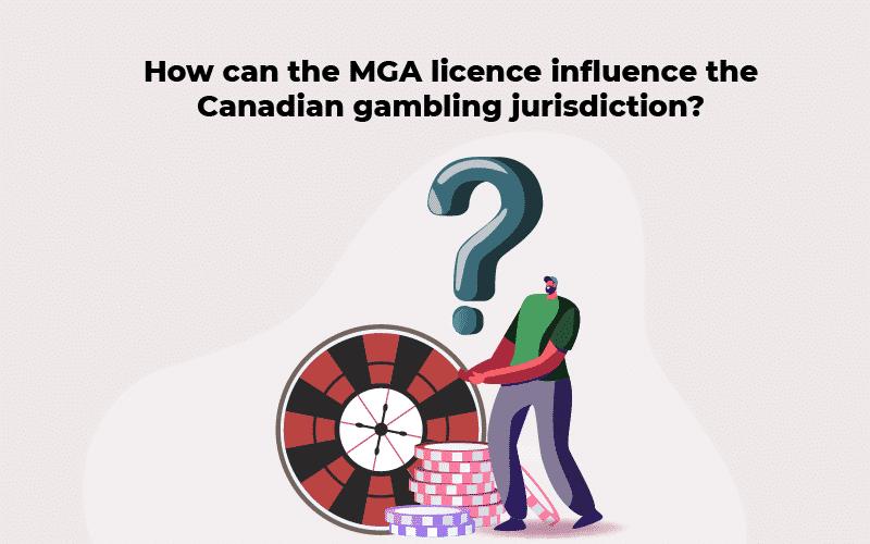 MGA licence and Canadian gambling jurisdiction
