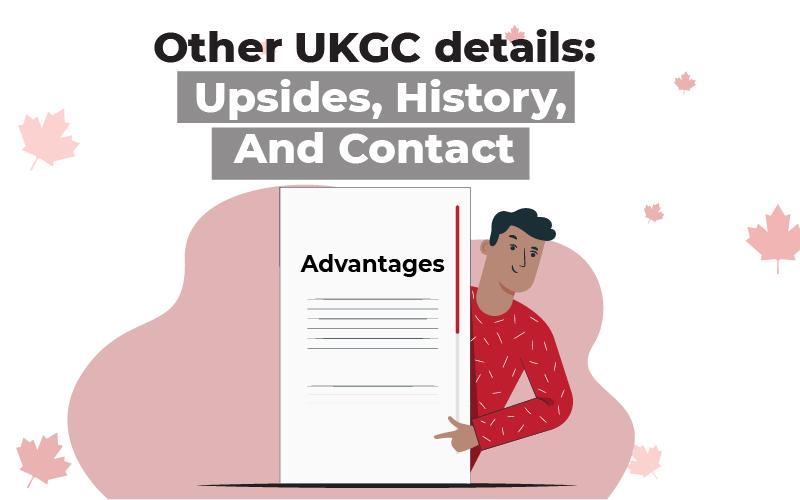 Other UKGC details