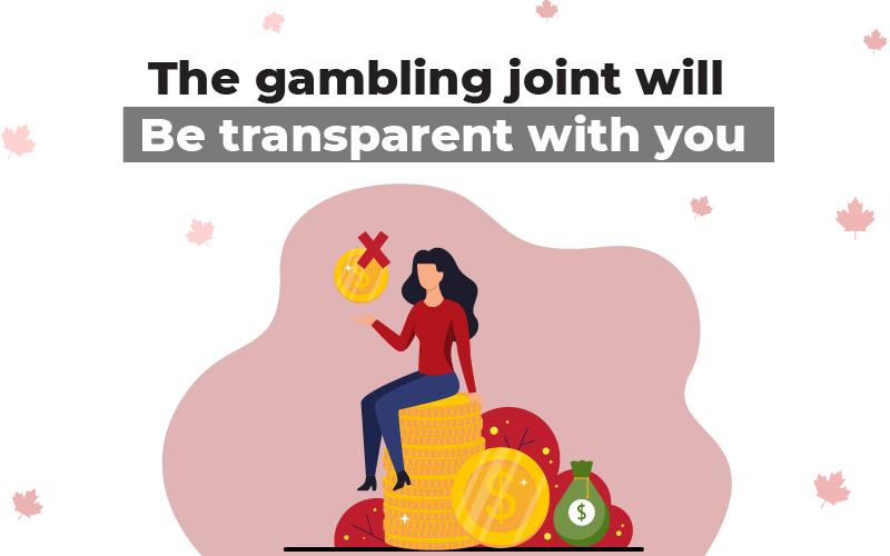 Transparent Gambling Joint