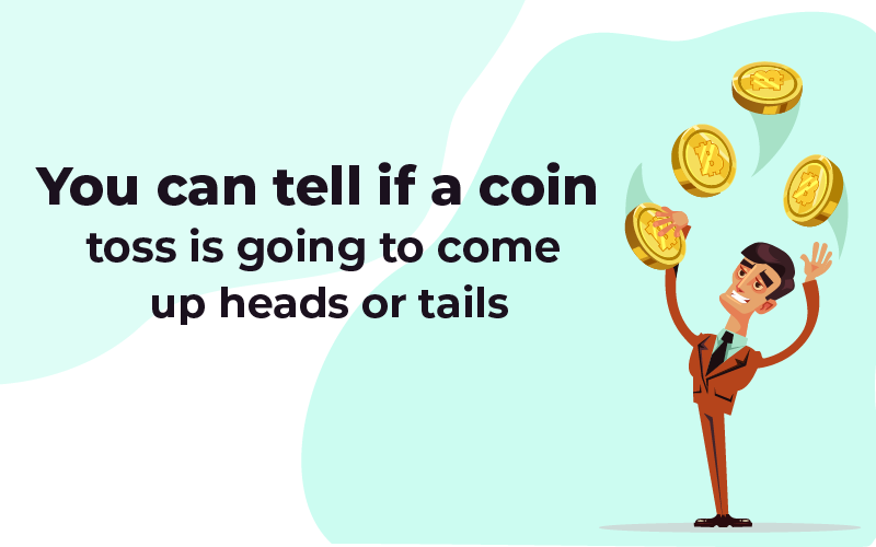 Predicting a coin toss