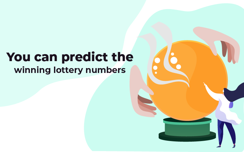 You can predict winning lottery numbers