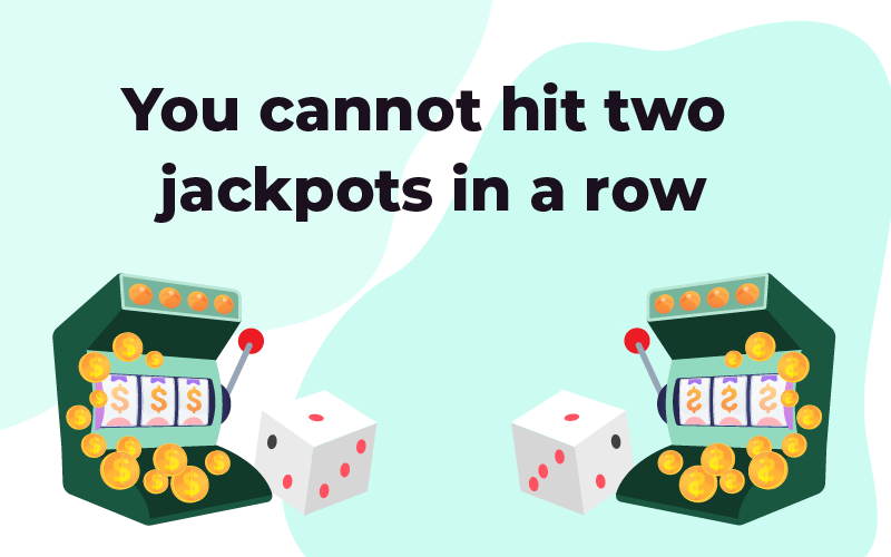 You cannot hit two jackpots