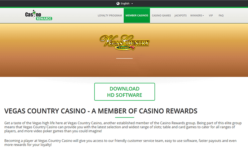 Vegas Country Casino Download Link
