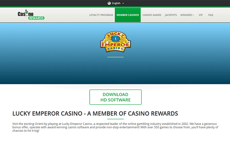 Lucky Emperor Casino Member Download Software Preview
