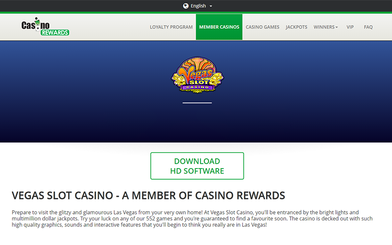 Vegas Slot Casino Download Software