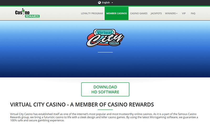 Virtual City Casino Rewards Preview