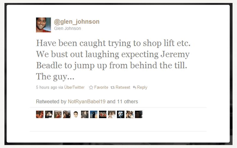 Glen Johnson post
