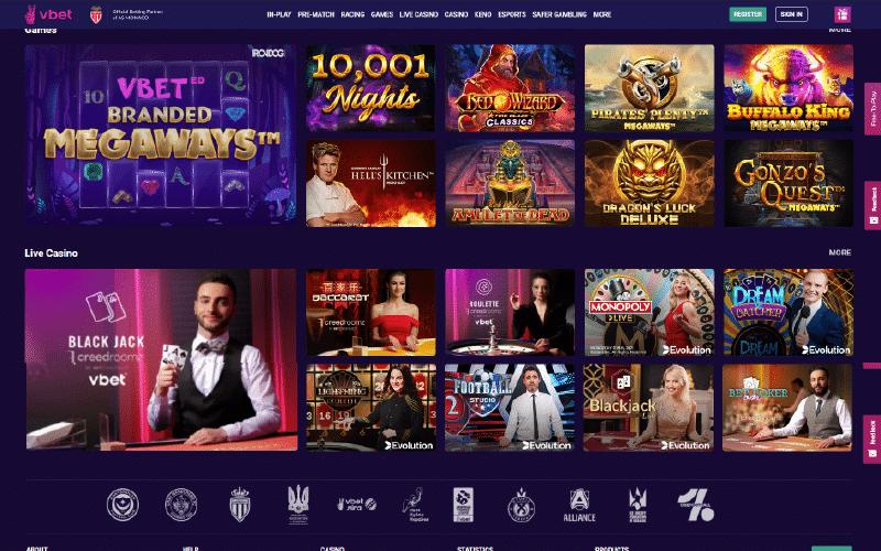 Vbet Casino Preview